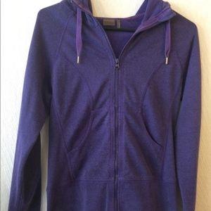 Z by Zella Full Zip Hoodie In Purple